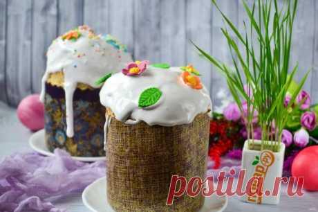 Дрожжевой кулич - пошаговый рецепт с фото на Повар.ру