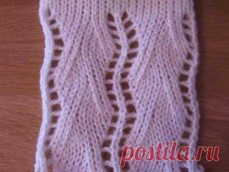 Patterns by knitting car the Sample No. 3