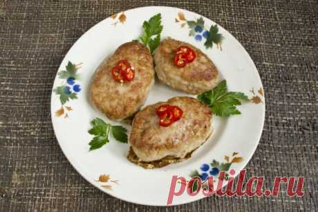 Juicy pork cutlets with potatoes. The step-by-step recipe with a photo - Ботаничка.ru