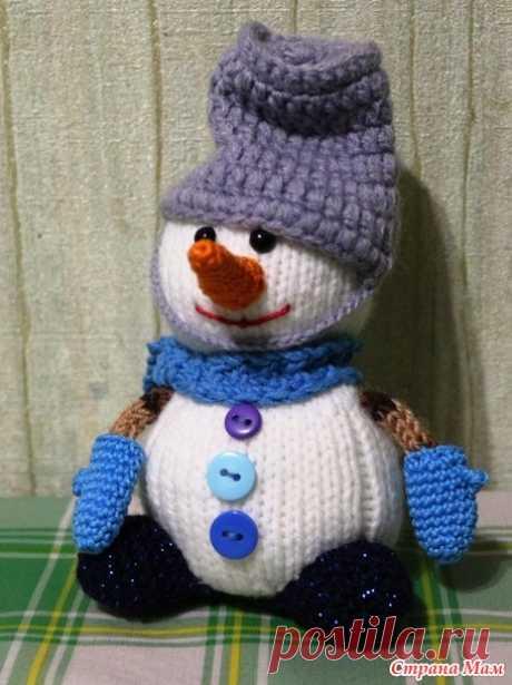. Веселые снеговички - Вязание - Страна Мам