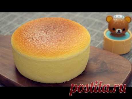 Японский Суфле Чизкейк [Супер Пушистый И Покачивающийся] Japanese Souffle Cheesecake