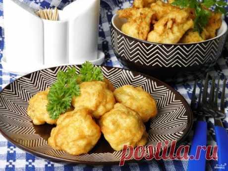 Цветная капуста в кляре с сыром - пошаговый рецепт с фото на Повар.ру