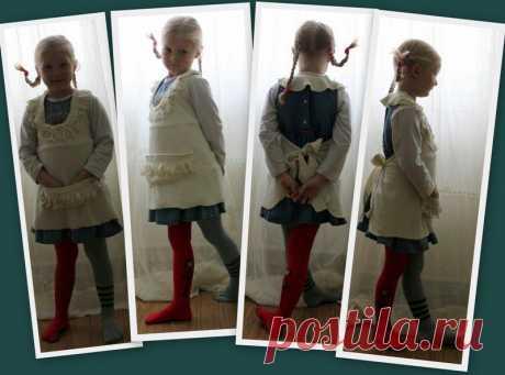 Новогодний костюм Пеппи Длинный чулок за 10 минут / Для детей / ВТОРАЯ УЛИЦА