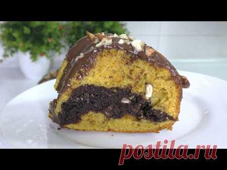 ТЫКВЕННЫЙ ПИРОГ Кекс шоколадно-тыквенный Рецепт кекса