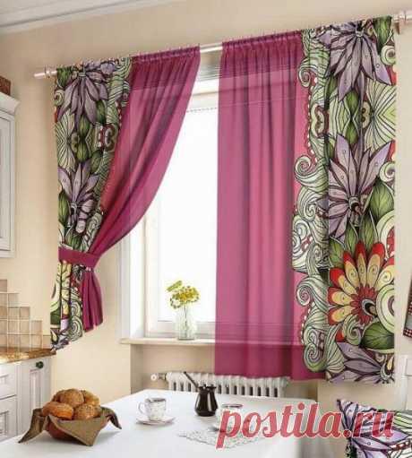 Правильный выбор штор для кухонного пространства