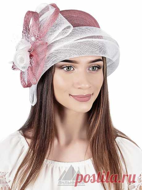 Шляпа Июлия - Женские шапки - Из соломки купить по цене 3153 р. с доставкой в Интернет магазине Пильников