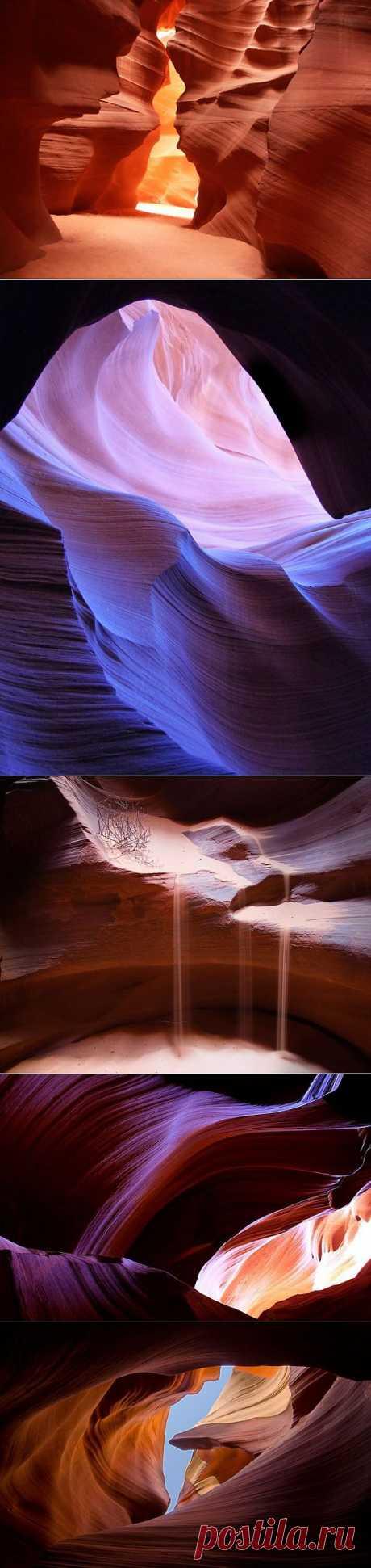 Неземная красота каньона Антилопы (26 фото)