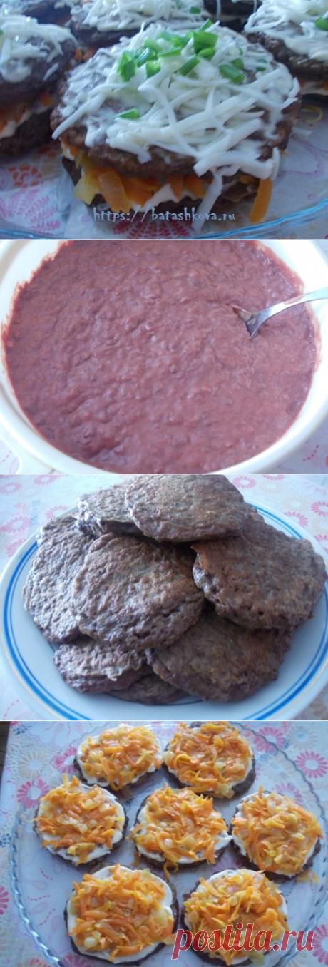Печеночные оладьи – лучший рецепт с начинкой