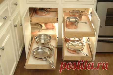 Эффективные способы организации кухонных ящиков