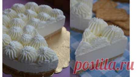 Торт-мусс со вкусом пломбира. Пошаговый рецепт с фото на Gastronom.ru