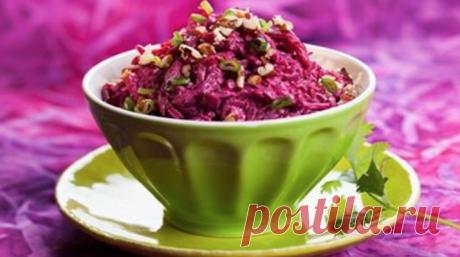 6 рецептов феерических салатов из свеклы – БУДЬ В ТЕМЕ