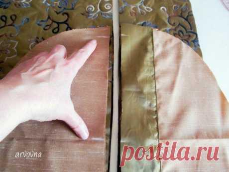 Обработка кармана в рельефном шве: мастер-класс