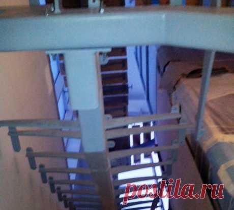 Лестница и ограждения из стекла
