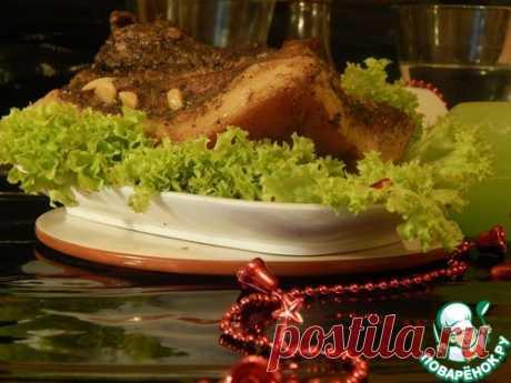 Щековина запеченная - кулинарный рецепт