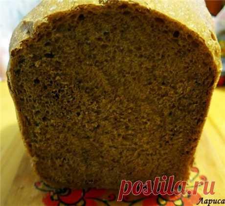 Печем хлеб в хлебопечке. Хлеб русский ржаной.