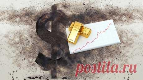 Как связаны печатный станок США и золото. Как долго будет расти цена на золото. | Золото канал | Яндекс Дзен