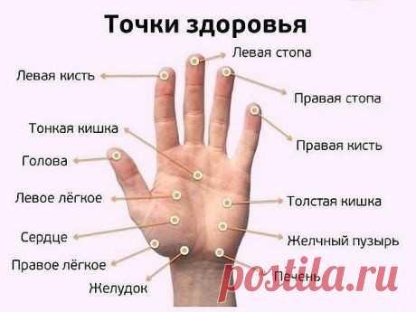 Массаж пальцев и здоровье всего тела