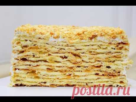 NAPOLEON cake \/ CRACKLING!!!! My most favourite CAKE