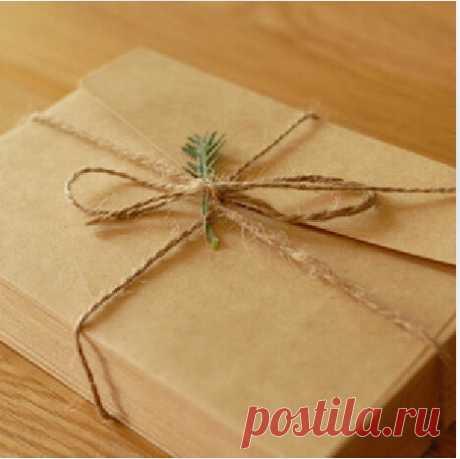 100 винтажных конвертов (AliExpress)