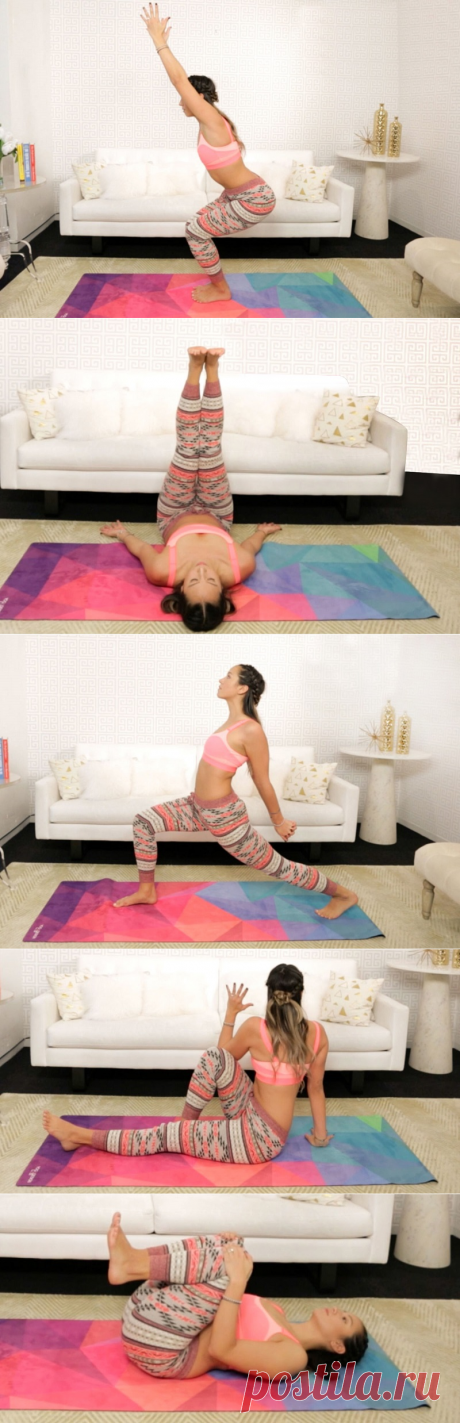 6 упражнений для хорошего пищеварения, которые подтягивают живот мгновенно!