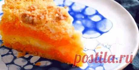 ОСЕННИЙ НАСЫПНОЙ ПИРОГ ИЗ ТЫКВЫ «ТРИ СТАКАНА» Яркий, вкусный и быстрый! Не знаете, что можно приготовить из тыквы? Можно приготовить невероятно вкусный рассыпчатый пирог Три стакана. Насыпной пирог