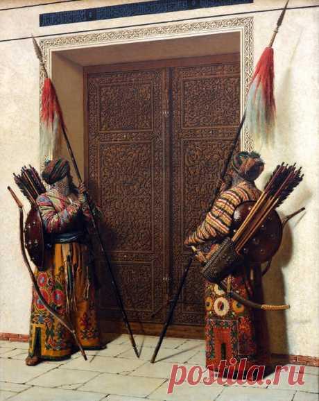 "Двери Тимура"", 1872 г  Василий  Верещагин"