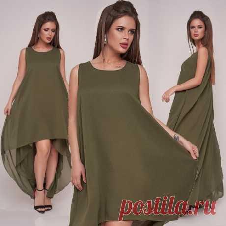 Асимметричное платье : много красивых летних платьев. Скидки. Доставка по стране и СНГ.