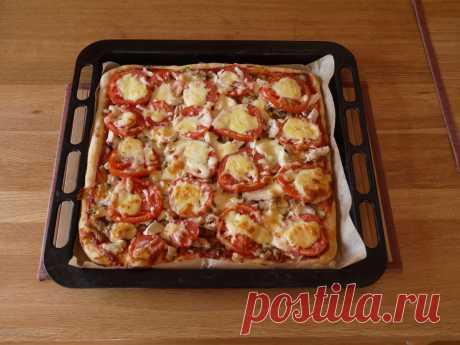 Любимая пицца нашей семьи. Мой фирменный рецепт. | Куклы Марины Еремеевой | Яндекс Дзен
