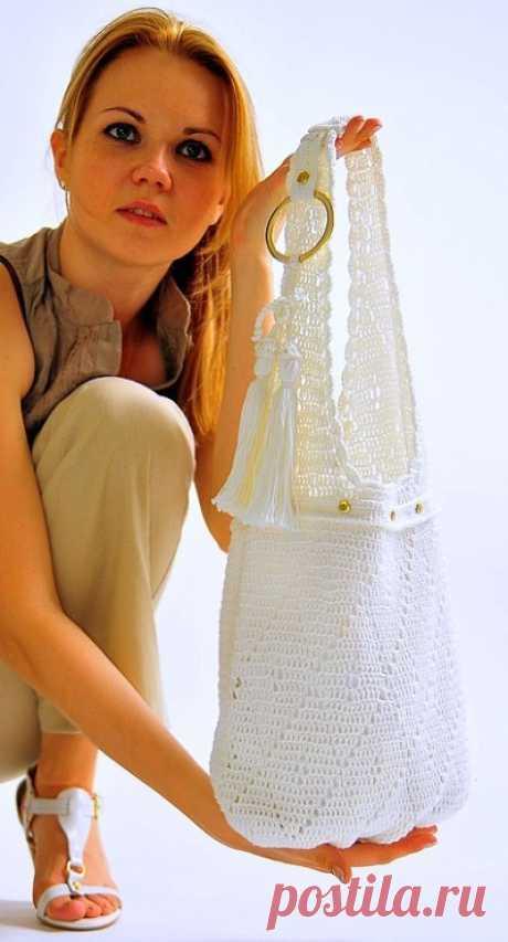 Вязание крючком - сумки