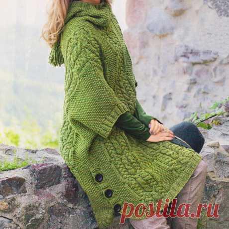 Успеть связать для осени Пуловеры на любой вкус, кейпы и пулундер спицами   Всё лучшее - маме   Яндекс Дзен