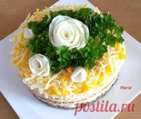 Обалденный салат «Шаланда» — вкусно и оригинально! Обалденный салат «Шаланда» — вкусно и оригинально!