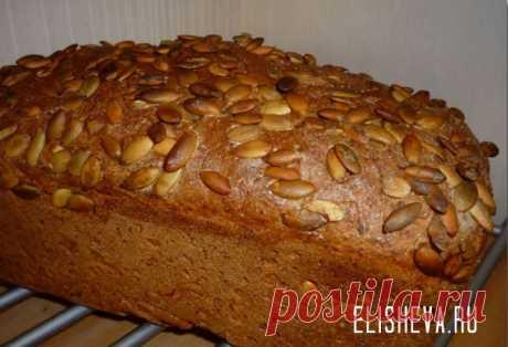 Домашний хлеб на кефире (в духовке).