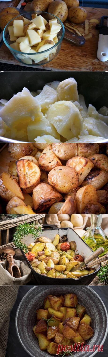 Идеальный картофель в духовке