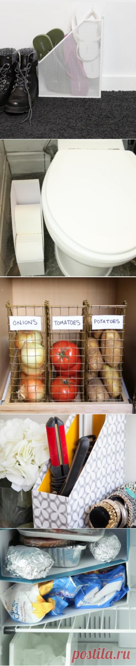 Используем накопители для журналов (подборка) / Организованное хранение / ВТОРАЯ УЛИЦА