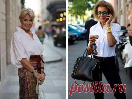10 стильных вариантов для идеального образа женщины 50+ - zhurnal-lady.com