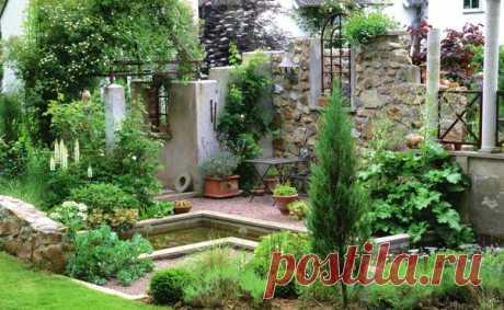 Стильные руины в дизайне сада / ландшафтный дизайн / 7dach.ru