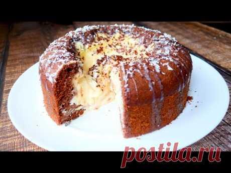 Чудо пирог вулкан с нежным кремом - запись пользователя Katya BivKen ШЕФ (Екатерина) в сообществе Болталка в категории Кулинария