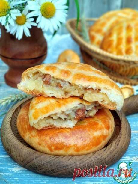 Пирожки с картошкой и лисичками – кулинарный рецепт
