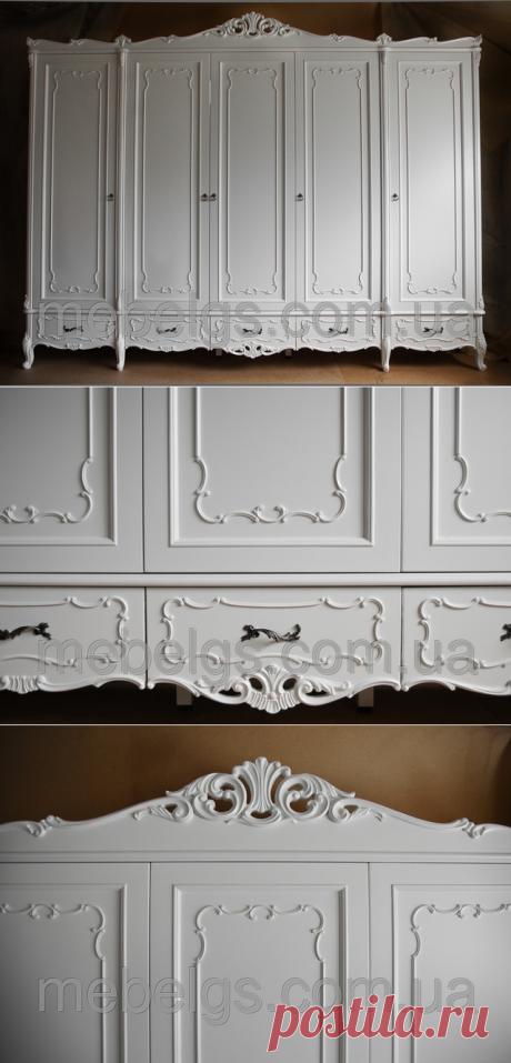 """Шкаф для спальни в стиле барокко: продажа, цена в Харьковской области. шкафы для спальни от """"MebelGS - мебель из натурального дерева от производителя"""" -   мебель из дерева, мебель деревянная, мебель на заказ, мебель Украина, элитная мебель, мебель премиум класса, mebelgs.com.ua, gigascom, gigastyle, гигастиль, гиглавый петр, гиглавая, изготовление мебели, качественная натуральная мебель, заказать стол, стулья, трюмо с зеркалом, кровати из дерева, мебель массив, столярные изделия"""