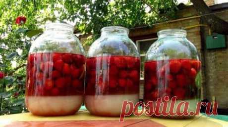 Рецепт восхитительной ягодной налuвкu на 4 стаканах