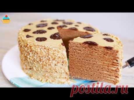 """Торт """"Коровка"""" или """"Му-Му"""" с вареной сгущенкой - ну, оОчень вкусный!"""