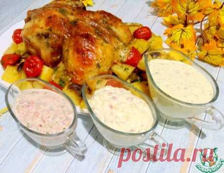 Яичный соус для курицы – кулинарный рецепт