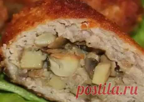 (12) Биточки с грибами - пошаговый рецепт с фото. Автор рецепта Марина СИМОНОВА . - Cookpad