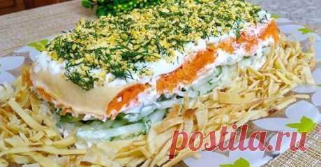 Дом салатов и закусок - лучшие рецепты