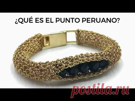 ¿Qué es el Punto Peruano? Joyería Tejida en Punto Peruano