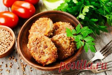 Котлеты гречневые — Sloosh – кулинарные рецепты