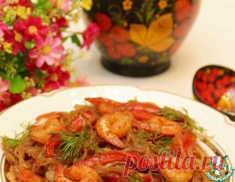 Фунчоза на горячее – кулинарный рецепт