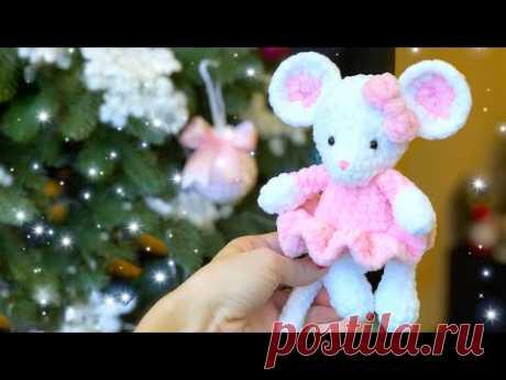 Маленькая мышка в платье. Мастер-класс. Часть 1