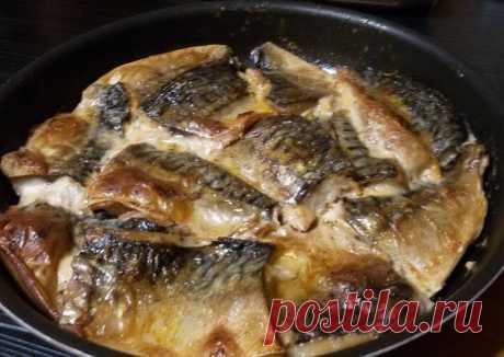 Филе скумбрии, запечённое в духовке Автор рецепта Ирина Ремез - Cookpad