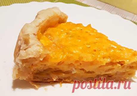 Заливной яично-луковый пирог Заливной яично-луковый пирог - пошаговый кулинарный рецепт приготовления с фото, шаг за шагом.